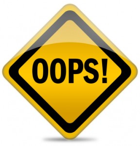 Oops Sign iStock_000012736008XSmall