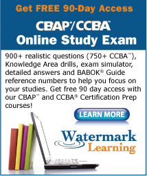 CBAP CCBA Online Study Exam