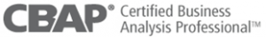 CBAP Certification logo