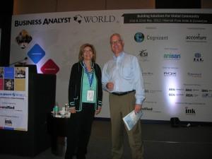 BA World Pune 04 - Elizabeth and David Barrett