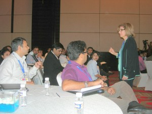 BA World Pune 07 - Eliz Presenting