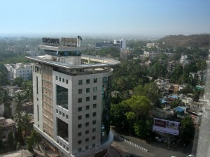 Pune City from Hotel 03