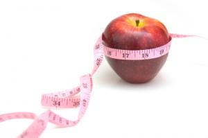 Apple w-Measuring Tape