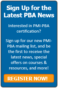 I Took the PMI-PBA Exam - Business Analyst Training - Watermark Learning