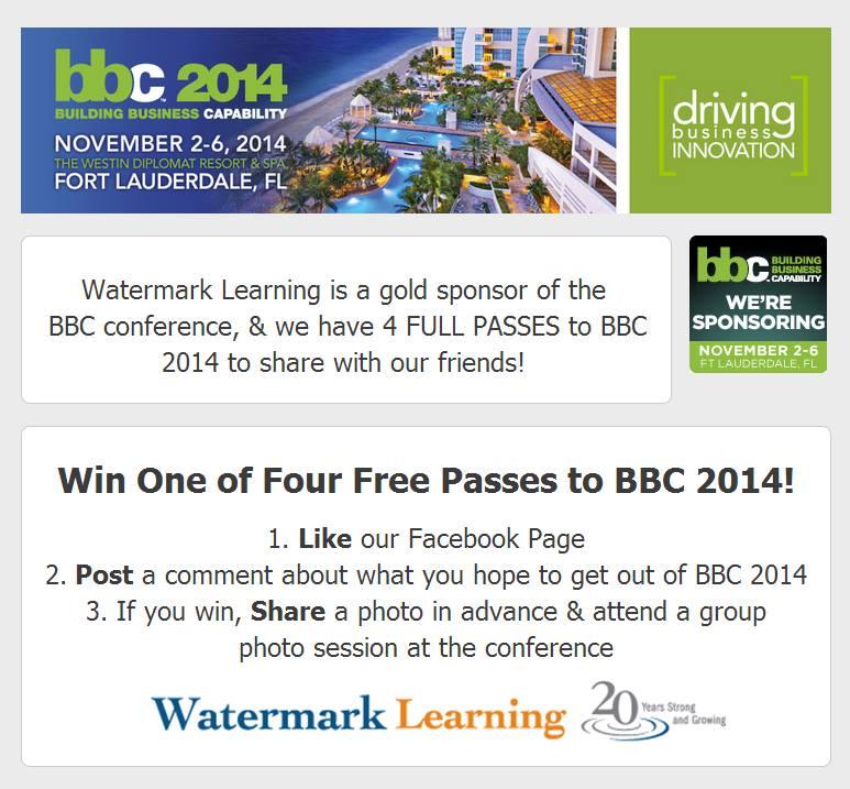 BBC 2014 Promo - Free Passes!