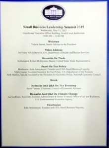 Small Business Council Agenda-Day 2