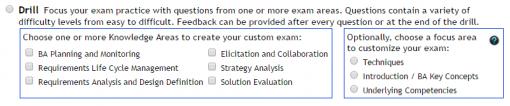 Online Study Exam v3 Drills