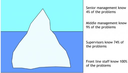 Iceberg of Ignorance study