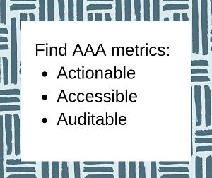 Find AAA Metrics
