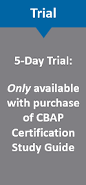 5-day CCBA Online Study Exam Trial
