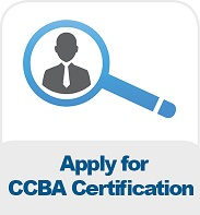 Apply for CCBA Certification