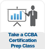 Take a CCBA Certification Prep Class