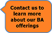 Contact Us about BA Offerings